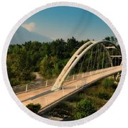 Bridge Round Beach Towel