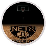 Brooklyn Nets Round Beach Towel