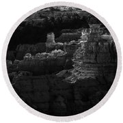 Bryce Canyon 12 Round Beach Towel