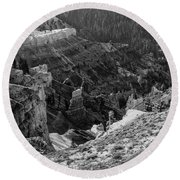 Bryce Canyon 5 Round Beach Towel