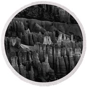 Bryce Canyon 8 Round Beach Towel