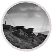 Buckstone Edge Round Beach Towel