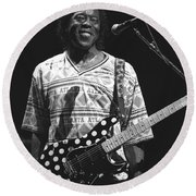 Buddy Guy Round Beach Towel