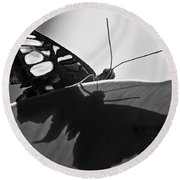 Butterfly II Round Beach Towel