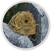 Campagnol Nest Round Beach Towel