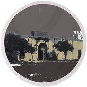 Canutillo Hacienda As Given To Pancho Villa  C.1920-2013 Round Beach Towel