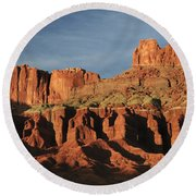 Capital Reef National Park Round Beach Towel