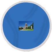 Capital Building Round Beach Towel