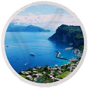 Capri Round Beach Towel