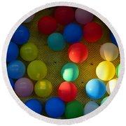 Carnival Balloons Round Beach Towel