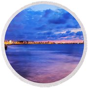 Casablanca  Round Beach Towel
