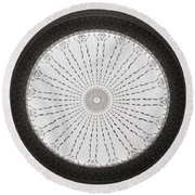 Ceiling Dome Round Beach Towel