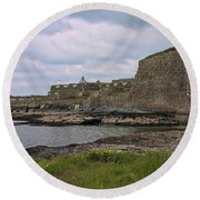 Charles Fort Kinsale Round Beach Towel