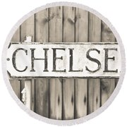Chelsea Round Beach Towel