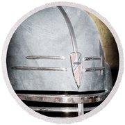 Chevrolet Hood Emblem - Grille Emblem Round Beach Towel