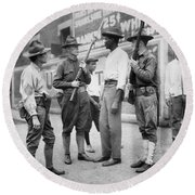 Chicago Race Riot, 1919 Round Beach Towel