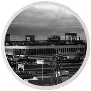 Citi Field - New York Mets Round Beach Towel