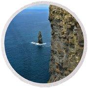 Cliffs Of Moher Round Beach Towel