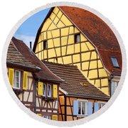 Colmar - Alsace Round Beach Towel
