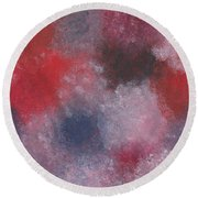 Colors Painting Round Beach Towel