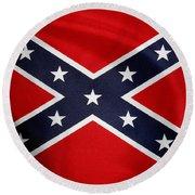 Confederate Flag 5 Round Beach Towel