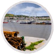 Conway Harbour Round Beach Towel