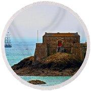 Corsairs' Home Round Beach Towel