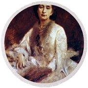 Cosima Wagner (1837-1930) Round Beach Towel
