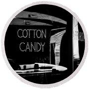 Cotton Candy Round Beach Towel