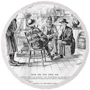 Country Store, 1894 Round Beach Towel