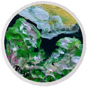 Crystal Reef Round Beach Towel