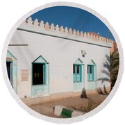 Dakhla Round Beach Towel