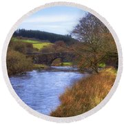 Dartmoor - Two Bridges Round Beach Towel
