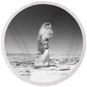 Delicate Arch 3 Round Beach Towel
