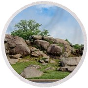 Devil's Den Pan Round Beach Towel