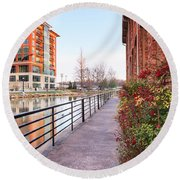 Downtown Greenville Sc Round Beach Towel