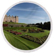 Drumlanrig Castle Round Beach Towel