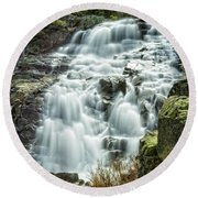 Eagle Falls Lake Tahoe Round Beach Towel