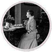 Edith Roosevelt (1861-1948) Round Beach Towel