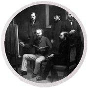 Edouard Manet (1832-1883) Round Beach Towel