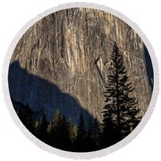 El Capitan  Round Beach Towel