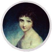 Eleanor Parke Custis Lewis(1779-1852) Round Beach Towel