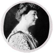 Ellen Louise Axson Wilson (1860-1914) Round Beach Towel