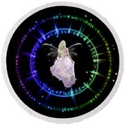 Fairy Portal Round Beach Towel