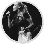Faith Hill Round Beach Towel