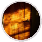 Film Noir Fritz Lang Michael Redgrave Secret Beyond The Door 1948 2 Casa Grande Arizona 2004 Round Beach Towel
