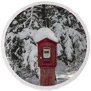Firebox 6334 Round Beach Towel