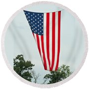 Flag Round Beach Towel