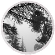 Forest Dreams Round Beach Towel