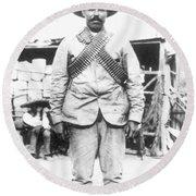 Francisco 'pancho' Villa (1878-1923) Round Beach Towel